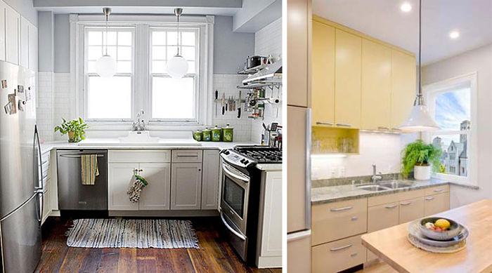Como decorar una cocina peque a 5 consejos tiles for Como amueblar una cocina pequena