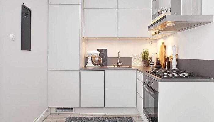 decorar pequeñas cocinas