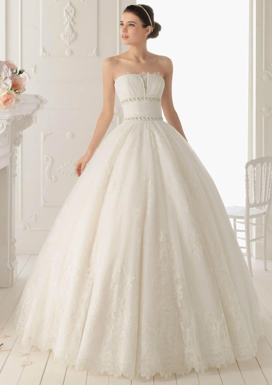 vestidos de 15 años estilo novia