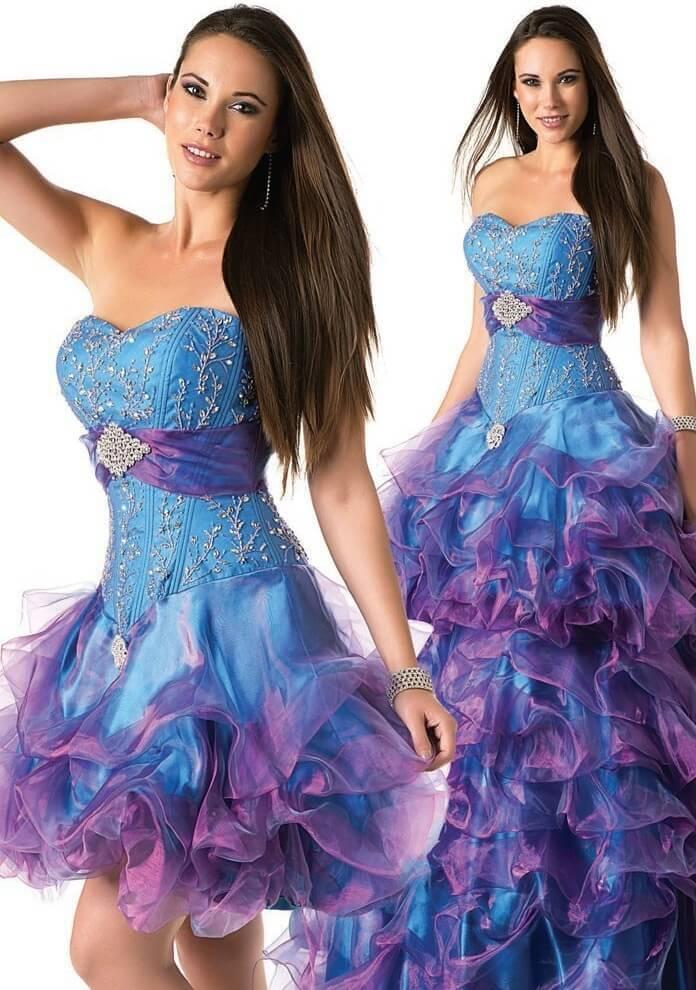 10 vestidos de 15 años muy elegantes y de moda + Imagenes