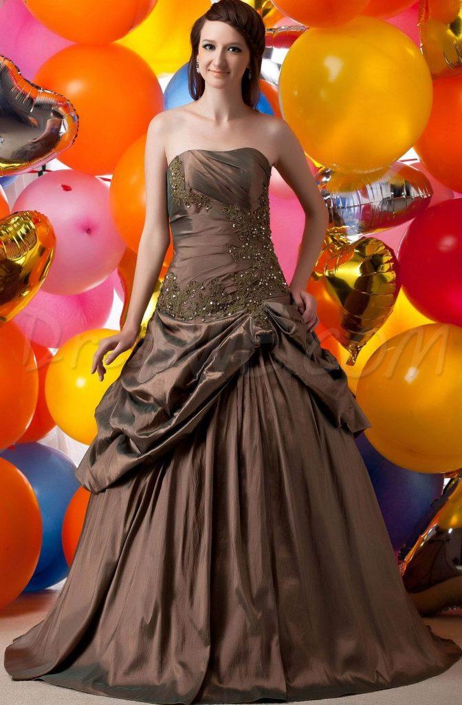 vestidos de 15 años estilo campestre
