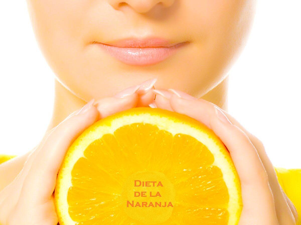 adelgaza con naranjas