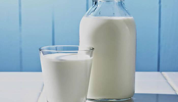 leche para las quemaduras del sol