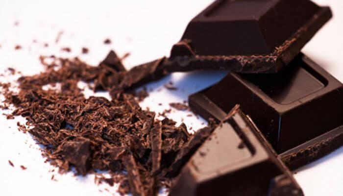 chocolate negro para la tos seca