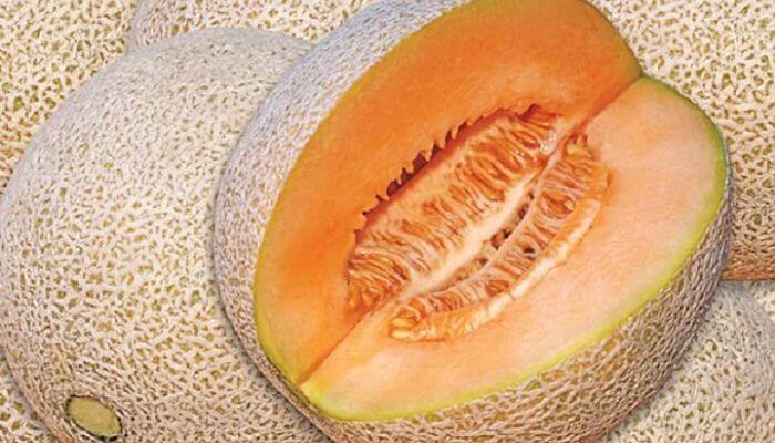 melon para las quemaduras solares