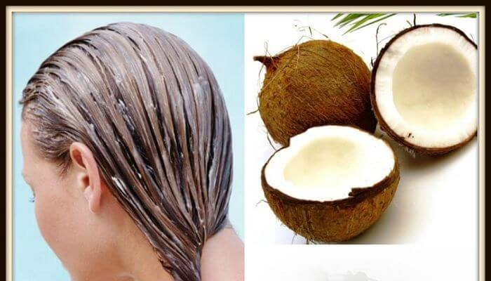 aceite de coco para el cabello maltratado