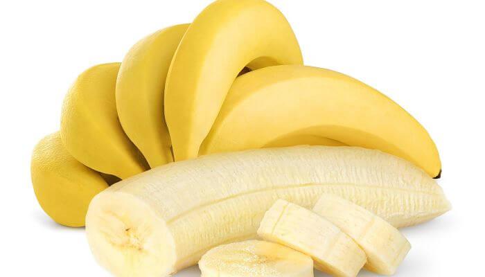 plátano para el cabello maltratado