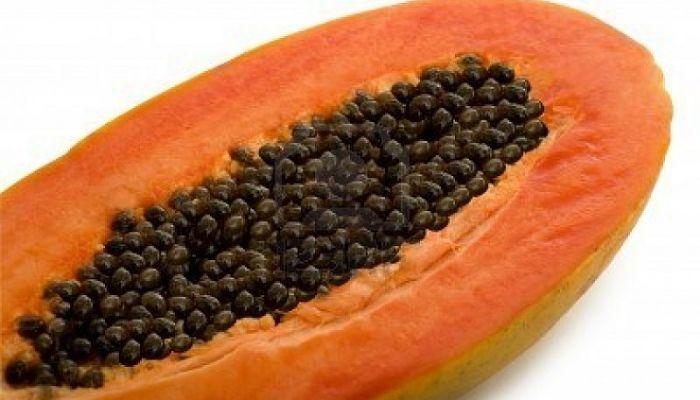 semillas de papaya para las lombrices