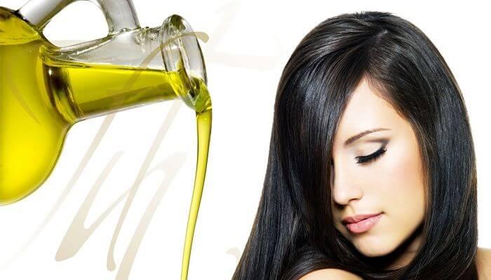 aceite de oliva para el cabello maltratado