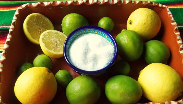 limon y sal para la amigdalitis