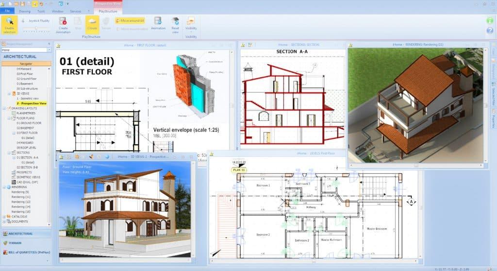 Programa diseo casas 3d diseo de casa y jardn d imagen for Programa diseno casas