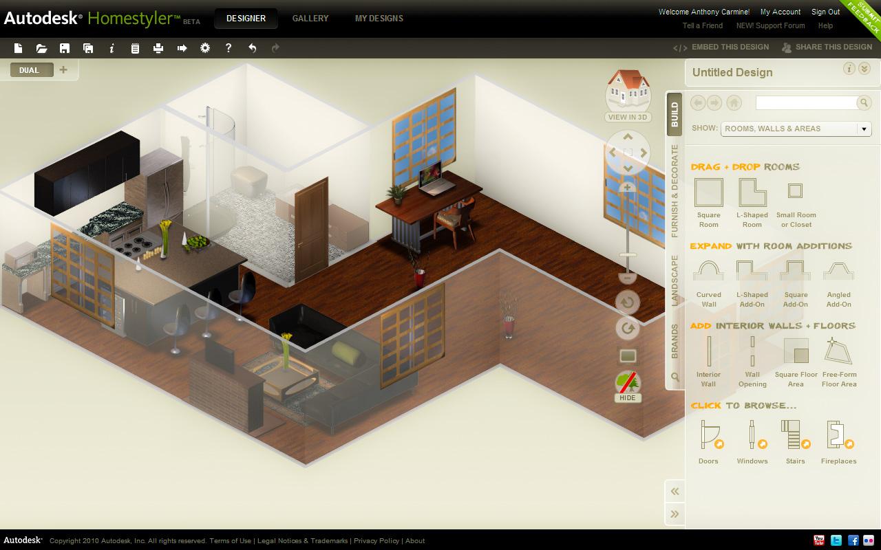 C mo dise ar una casa moderna con programas 3d megalindas for Programa para disenar muebles en 3d gratis