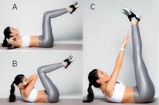 ejercicios para reducir la barriga