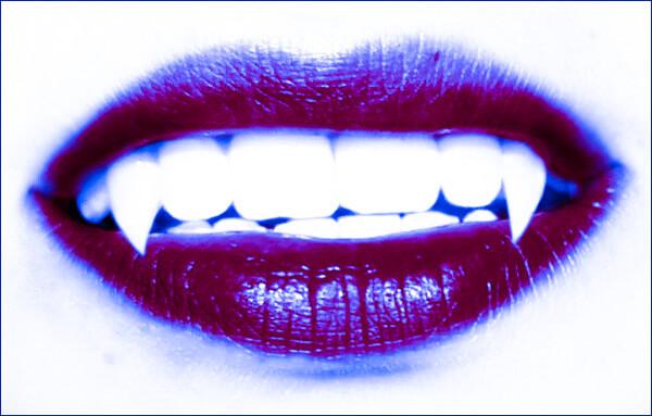 maquillate como vampira