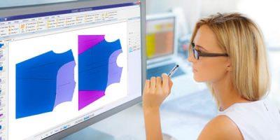 Programa para diseñar ropa.-
