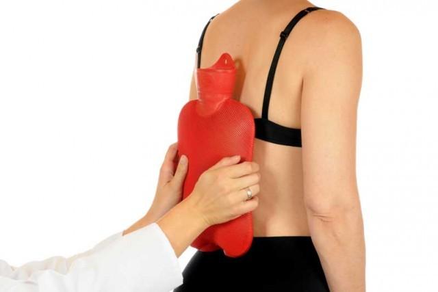 terapias de calor y frio como remedios naturales para el dolor de espalda
