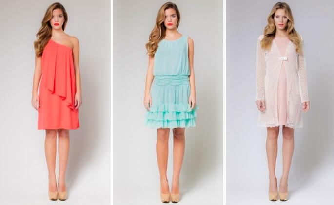 vestidos de coctel sencillos