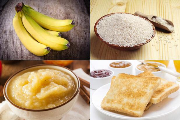 Alimentos contra la diarrea