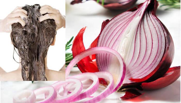 jugo de cebolla para evitar la caída del cabello