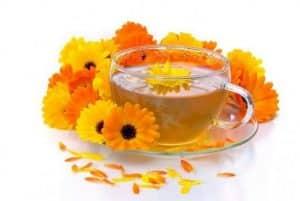 usa las flores de caléndula como uno de los remedios caseros para la lechina.