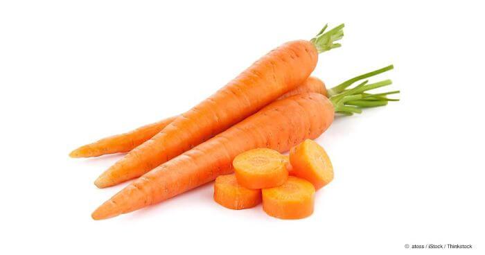 zanahorias para las estrias