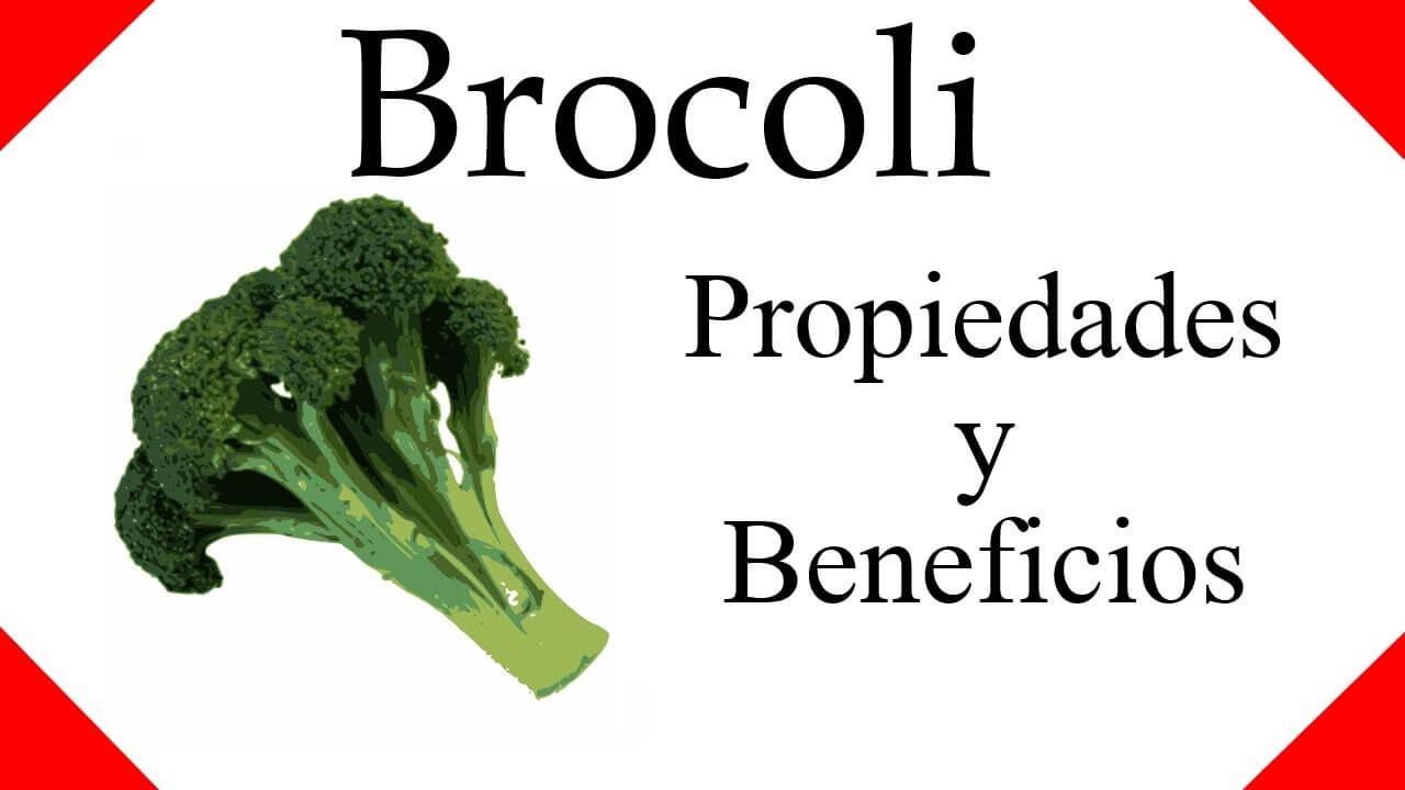 conoce los beneficios del brócoli