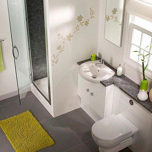 como decorar un baño pequeño con estilo