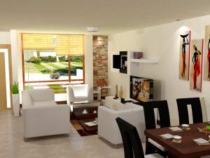 como decorar una casa sencilla