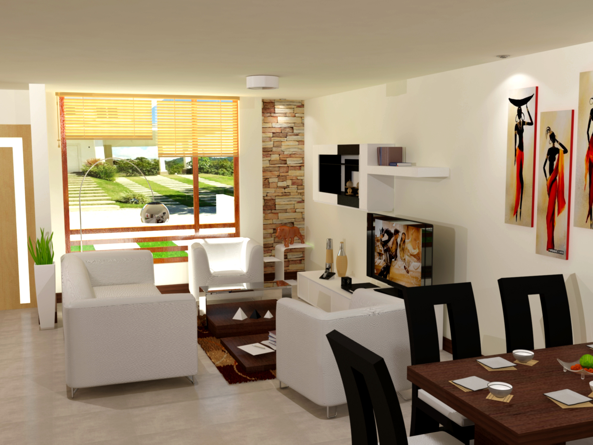 Como decorar una casa innovadoras ideas para ti - Ideas para decorar interiores ...