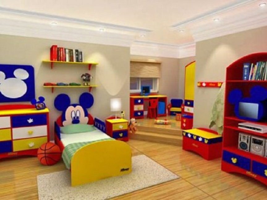 como decorar una habitación infantil
