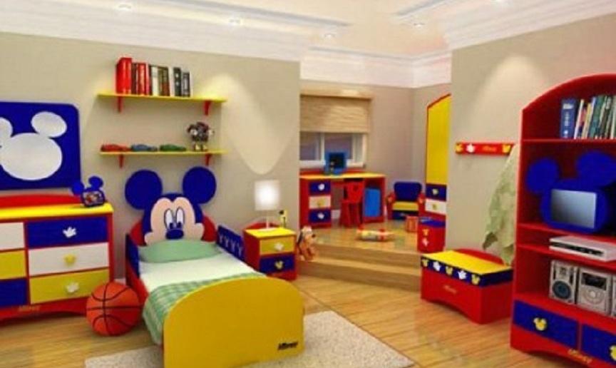 Descubre como decorar una habitación infantil