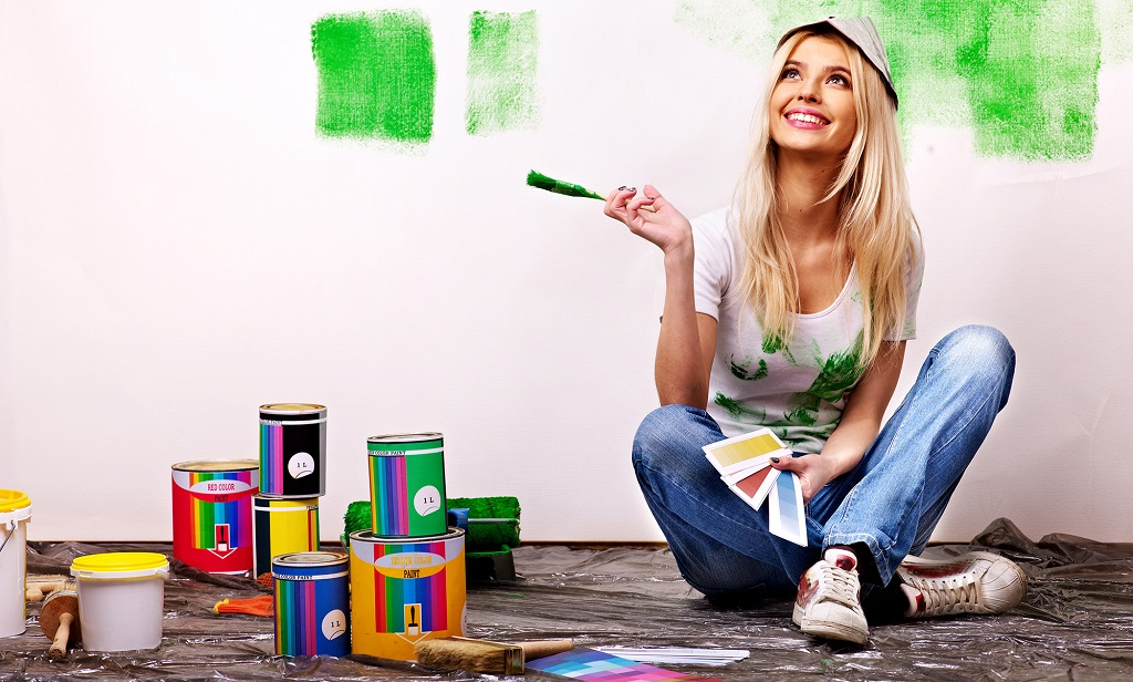 como escoger los colores para pintar una casa