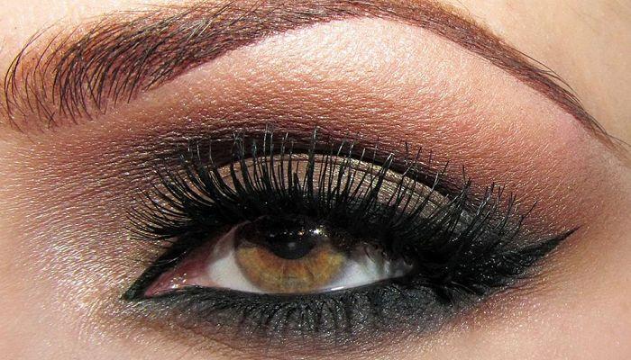 efecto ahumado para lucir ojos mas grandes