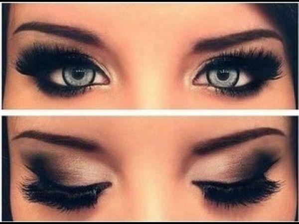 como maquillarse los ojos ahumados