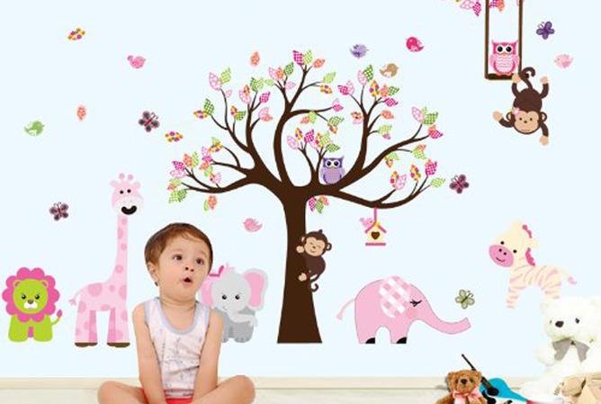 como pintar una habitación infantil