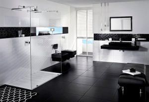 hermosa decoración de cuartos de baño