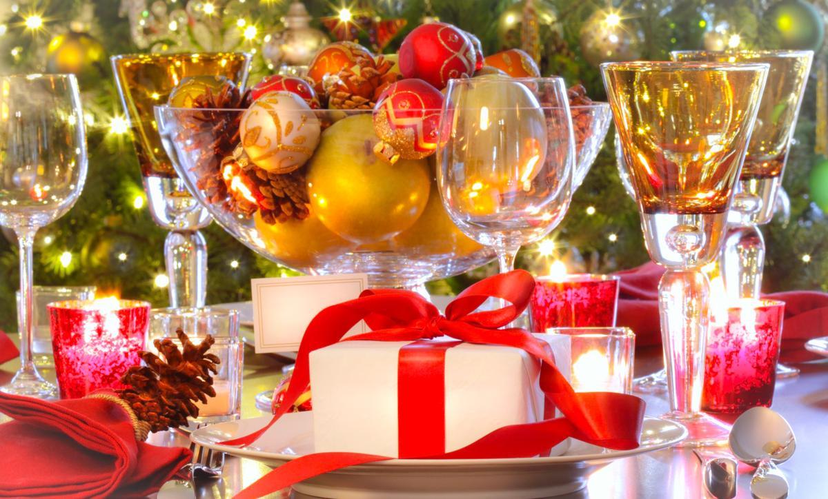 Bellas manualidades de decoraci n de mesas de navidad for Mesas de navidad