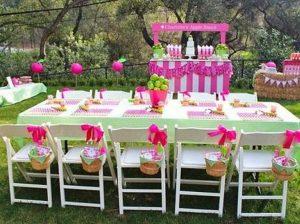 como hacer una decoración de mesas para fiestas