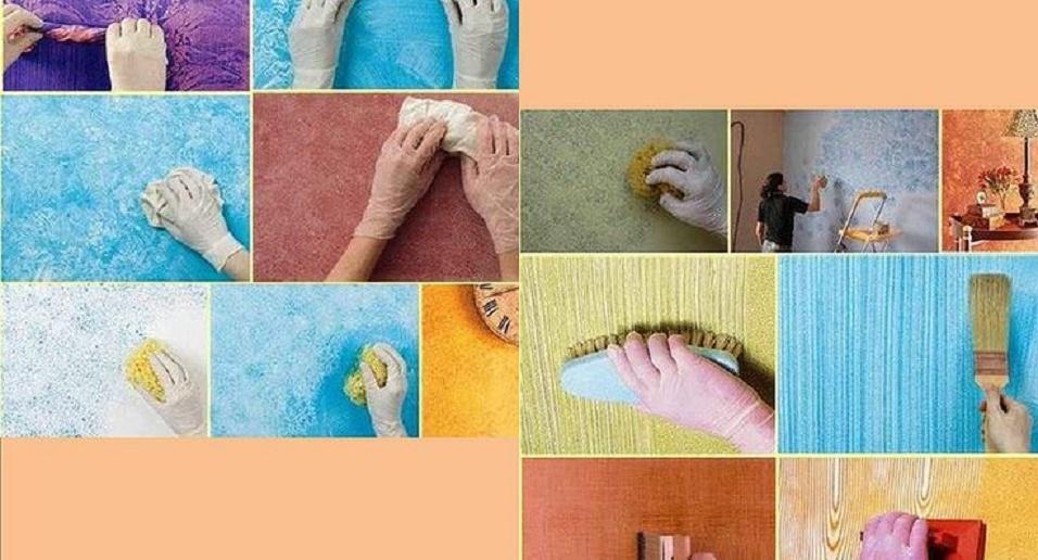 como hacer decoración de paredes con pintura