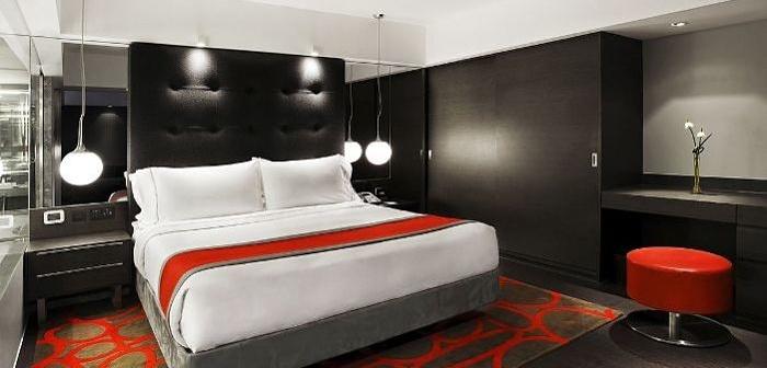 habitación con estilo moderno