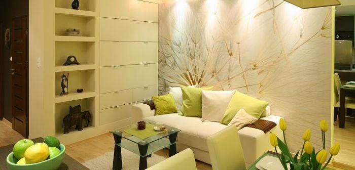 Decorar una sala peque a megalindas - Como decorar una entrada pequena ...