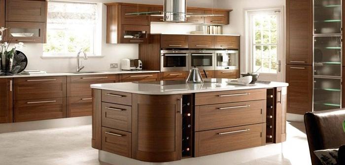 El diseño de una cocina moderna y contemporaneo