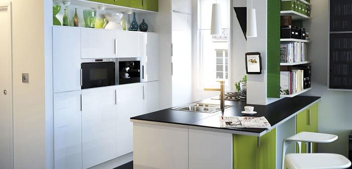 La decoracion de una cocina moderna