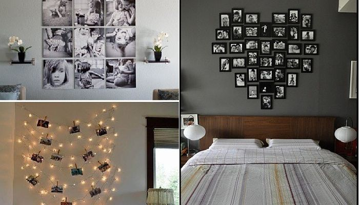 Ideas para decorar con fotos - Ideas para decorar habitacion ...