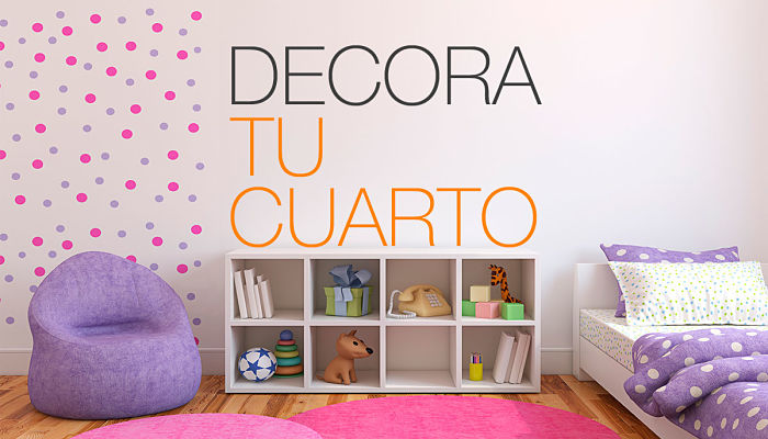 7 fabulosas ideas para decorar tu cuarto con im genes for Decoracion de mi habitacion