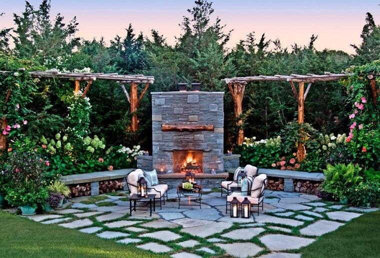 fantásticas ideas para decorar un jardín