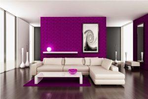 imperdibles ideas para pintar un saln hermosa decoracin con una sola pared en color