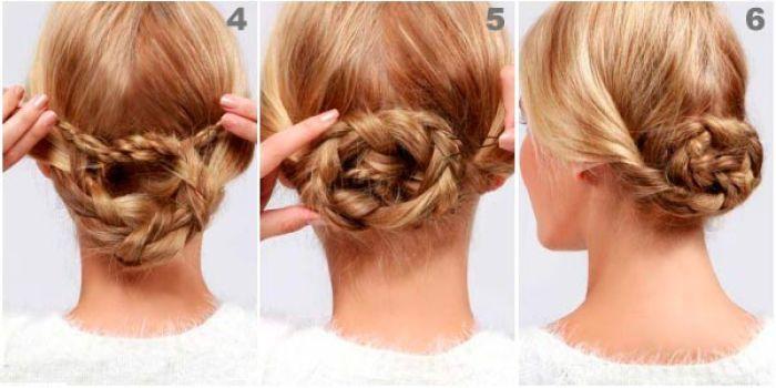 Como hacer peinados con trenzas cosidas3 thumb1 car - Peinados paso a paso trenzas ...