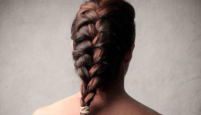 peinado trenza francesa paso a paso
