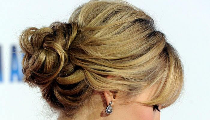 peinado estilo cebolla para mujeres
